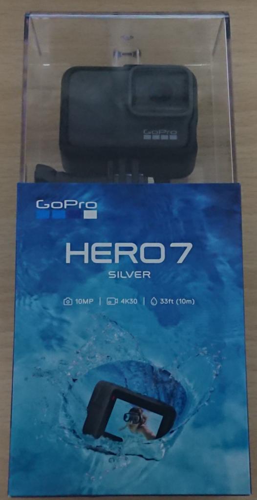 GoPro HERO7 Silver 箱
